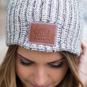 Love your melon beanie!